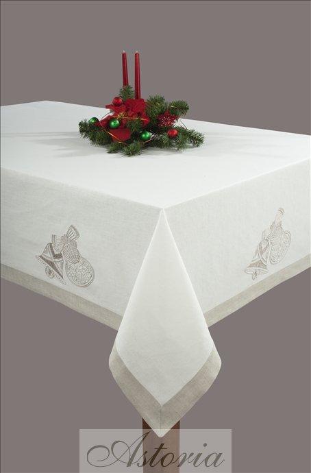 Znalezione obrazy dla zapytania Stół świąteczny obrus stylowi