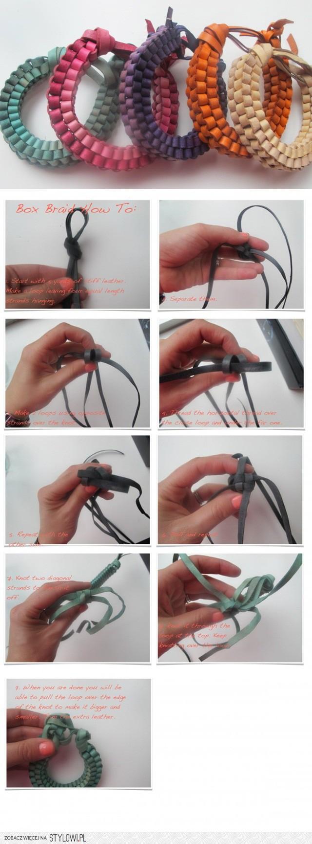 Как сделать красивую браслет своими руками