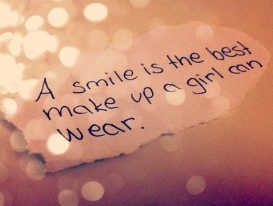 status to make a girl smile