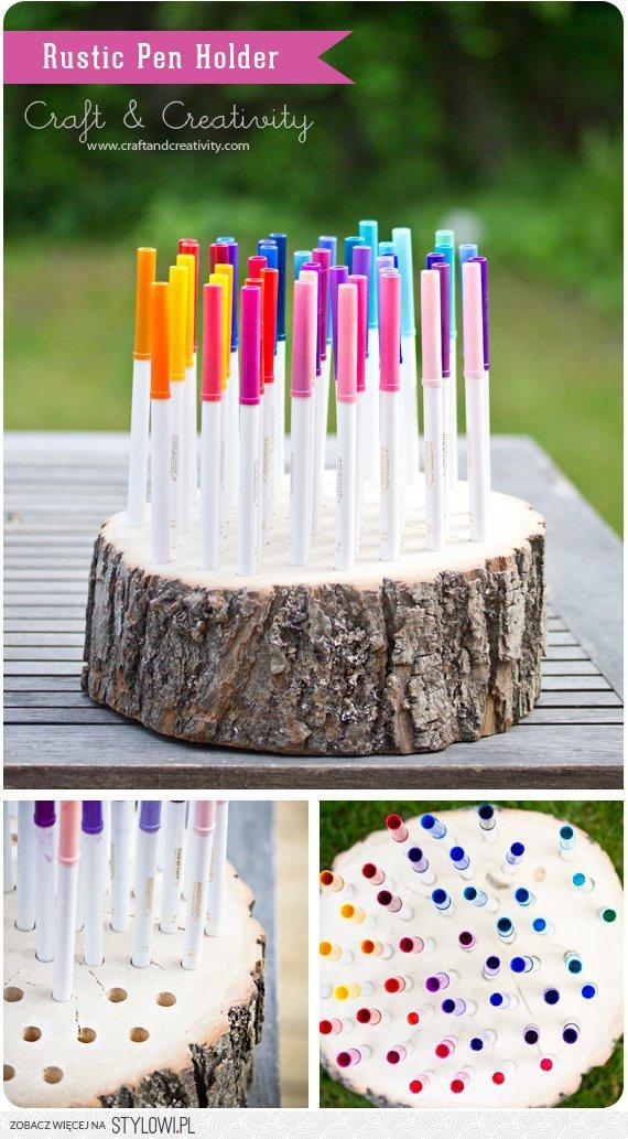 Подставки для ручек и карандашей своими руками из дерева