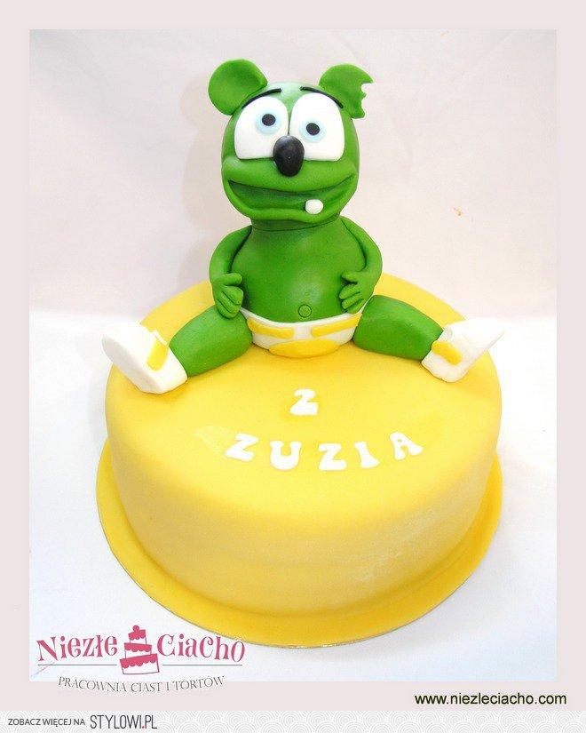 Gummy Bear, Gumi Miś, misiu, zielony miś, tort z Gummy… na ...