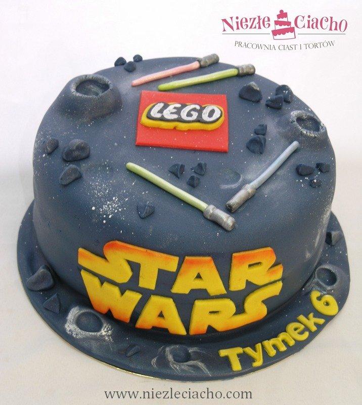 Star Wars, Gwiezdne Wojny, Lego, torty dla dzieci, tort ...