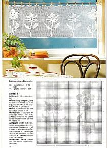 Crochet curtain pattern 2