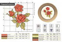 Схемы вышивки крестом небольшого размера 61