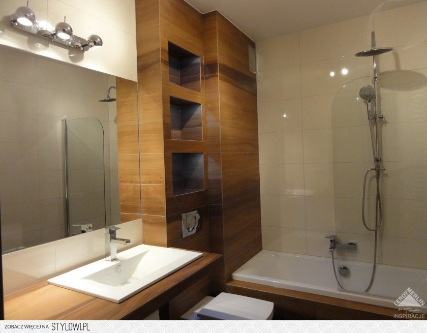 Łazienka  Łazienka  Wasze Wnętrza Leroy Merlin na Stylowi pl