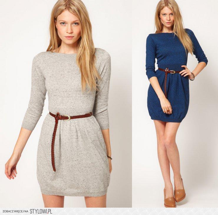 199cc14929 http   allegro.pl asos-dzianinowa-ciepla-sukienka-mini-… na Stylowi.pl