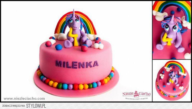 My Little Pony Kucyk Torty Bajkowe Tort Urodzinowy Na Stylowipl