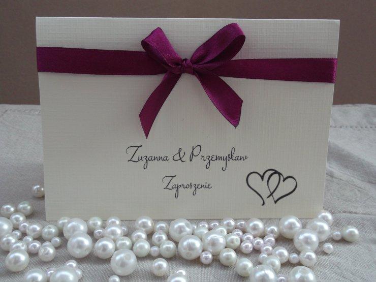 Zaproszenia ślubne Więcej Na Httpallegroplshow Na Stylowipl