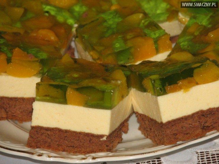 Biszkopt Z Masa Piankowa W Galaretce Przepisy Kulinar Na Stylowi Pl