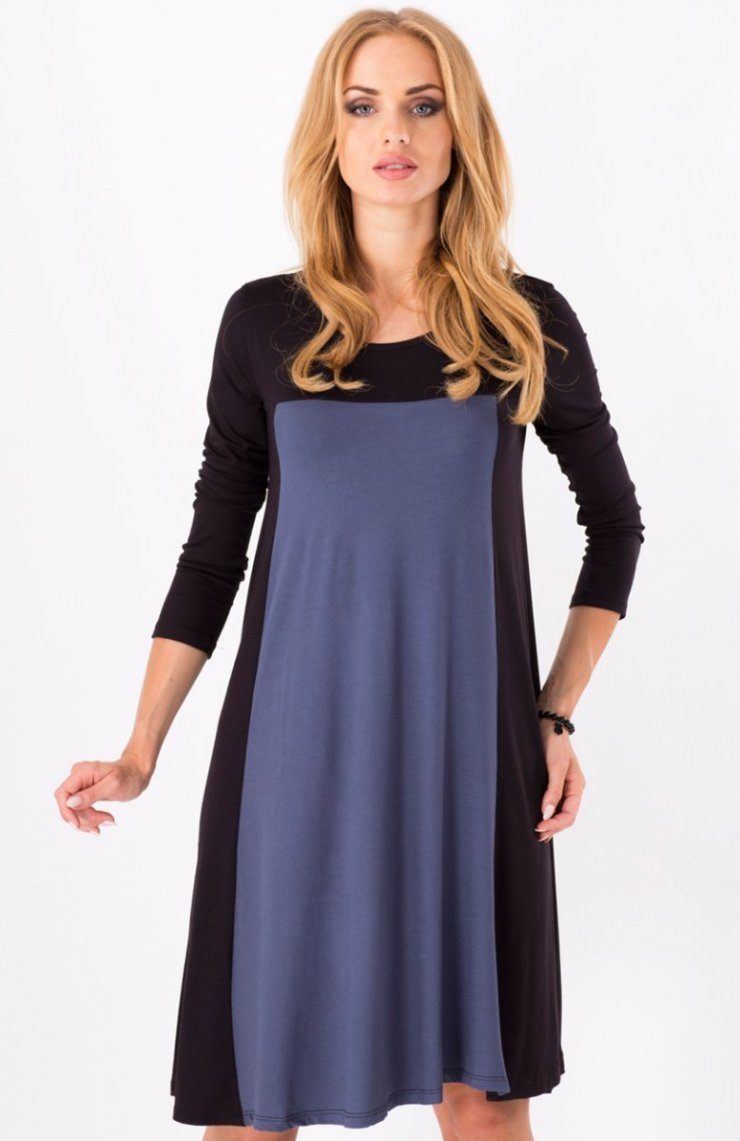 67ad5f603a Makadamia 8550 sukienka grafitowa Piękna sukienka
