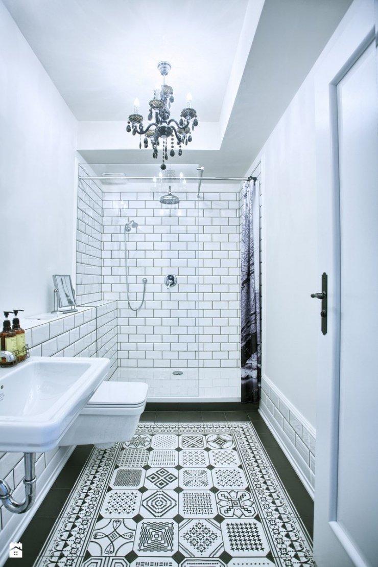 Apartment For Rent łazienka Styl Eklektyczny Zdjęc Na