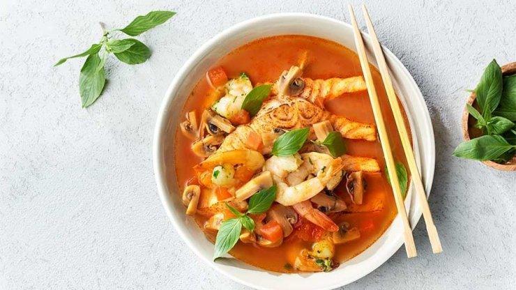 Zupa Pomidorowa Z Mlekiem Kokosowym Kuchnia Lidla Na Stylowipl