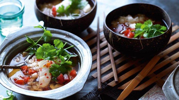 Przepis Na Ostrą Zupę Z Rybą I Ryżem Kuchnia Lidla Na Stylowipl