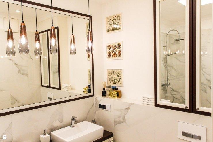 łazienka Styl Nowojorski Zdjęcie Od Arb Pracownia Ar Na