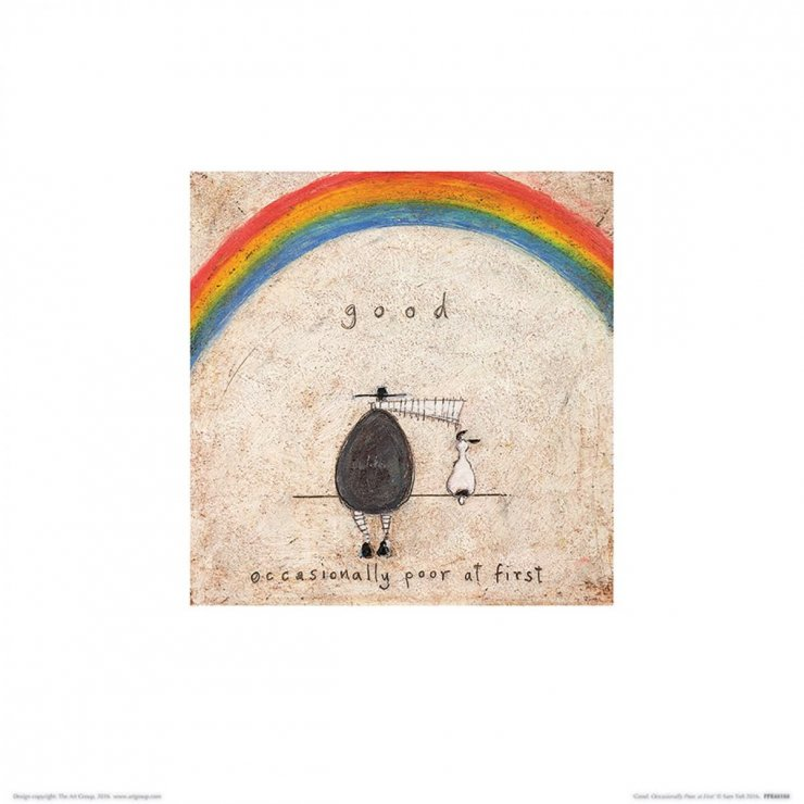 Sam Toft Good Occasionally Poor At First Reprodukcja Na