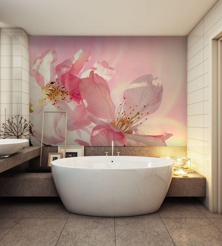 Redro Fototapeta Kwiaty 3d Do łazienki Na Stylowipl