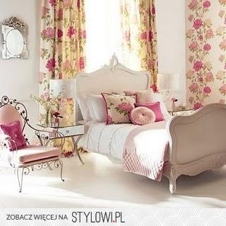 Biało Różowa Sypialnia Na Stylowipl