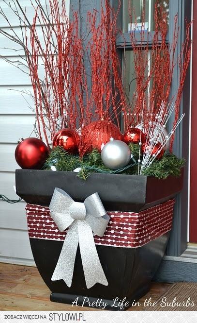 Dekoracje Bożonarodzeniowe Na Stylowipl
