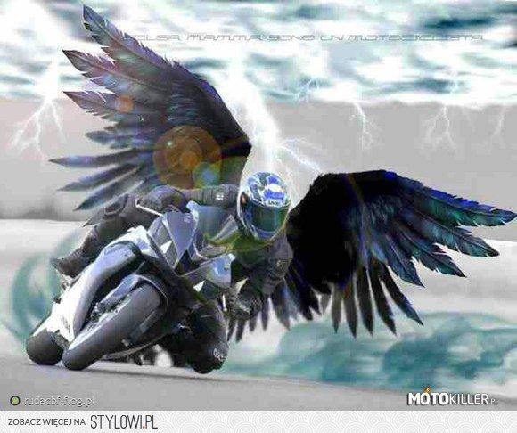 Nie Jeździj Szybciej Niż Twój Anioł Stróż Potrafi Lata Na