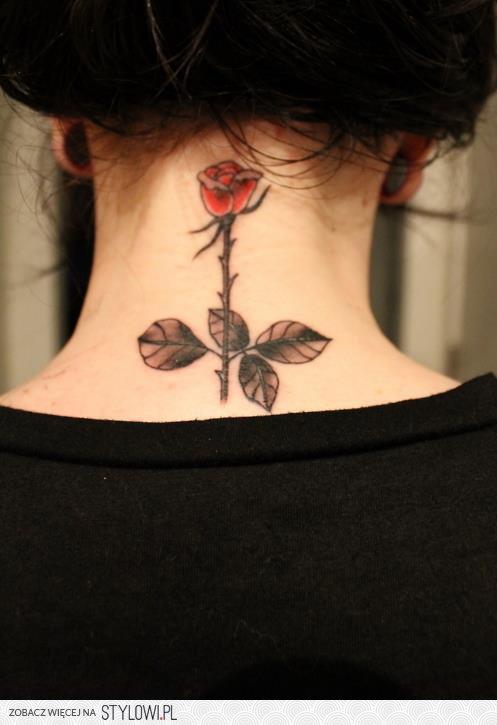 Róża Na Karku Na Stylowipl