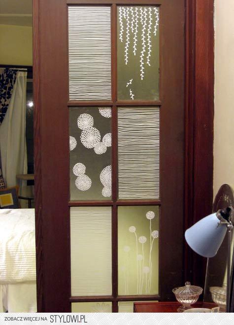 W Mega malowane szyby w drzwiach na Stylowi.pl YP48