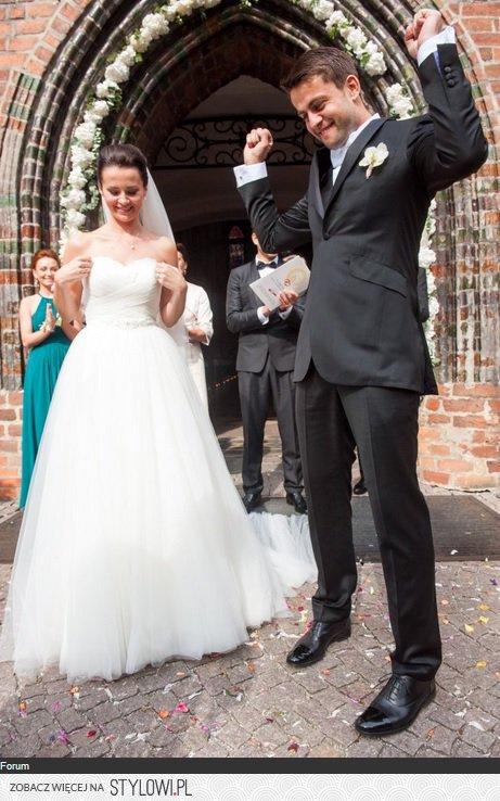 Piękna Suknia żony łukasza Fabiańskiego Na Stylowipl