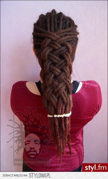 Dredy Włosy Fryzury Długie Alternatywne Dredy Dread Na