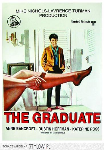 Absolwent The Graduate Retro Plakat Na Stylowipl