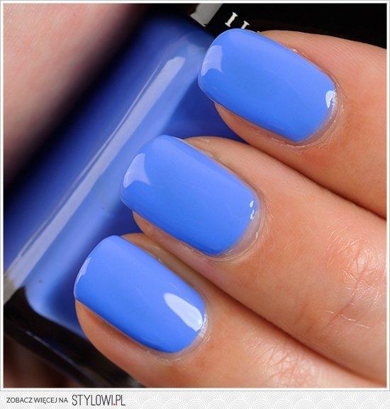 Niebieskie Paznokcie Na Stylowipl