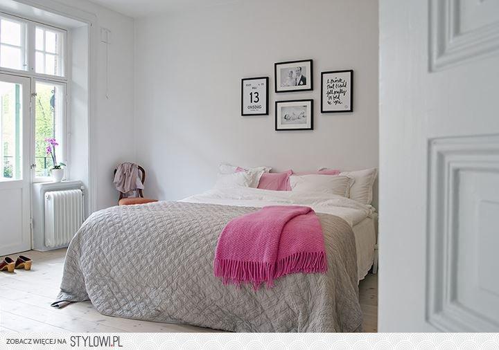 Sypialnia Biało Różowa Www79ideasorg Na Stylowipl
