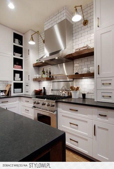 Szafki Kuchenne Czy Otwarte Półki W Kuchni Co Wybrać Na