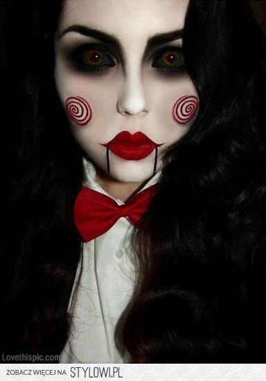 Makijaż Na Halloween Na Stylowipl
