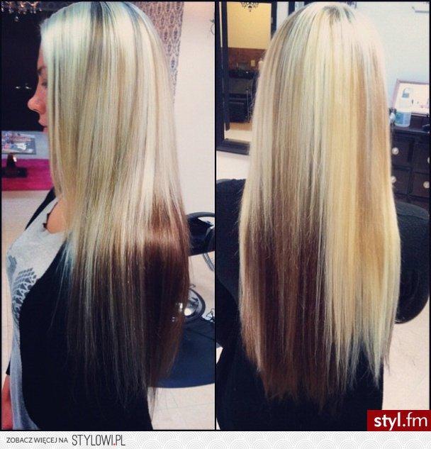 Fryzury Blond Włosy Fryzury Długie Na Co Dzień Proste Na
