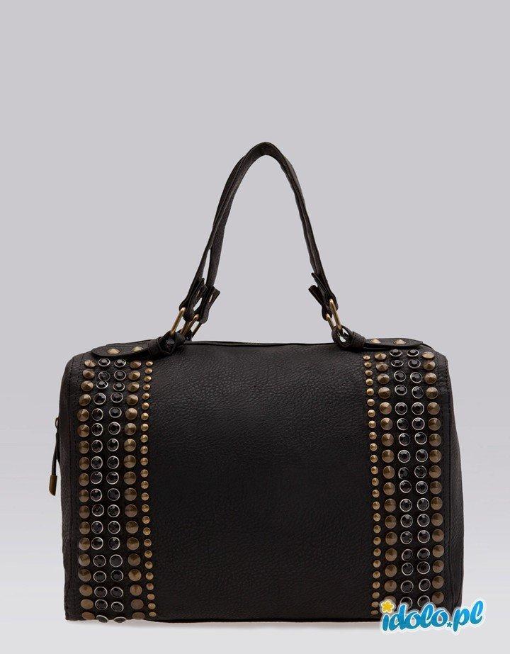 b2a70184a2cc3 torba Bershka w kolorze czarnym - torebki na jesień i z… na Stylowi.pl
