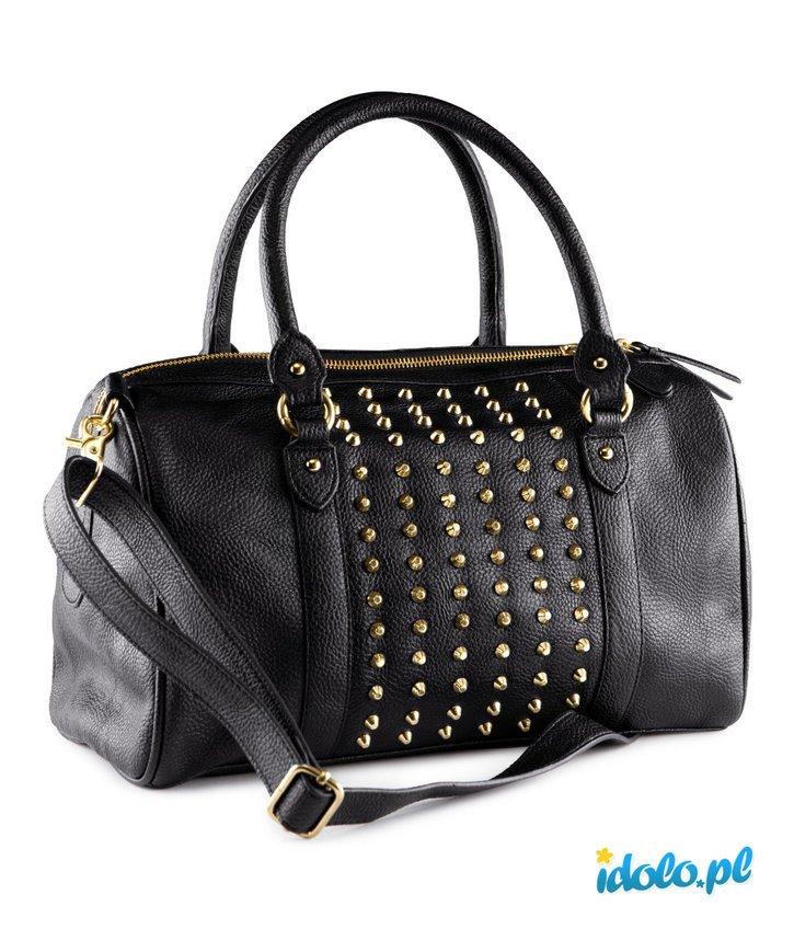 4faf5817 torebka H&M z ćwiekami w kolorze czarnym - torebki na j… na Stylowi.pl