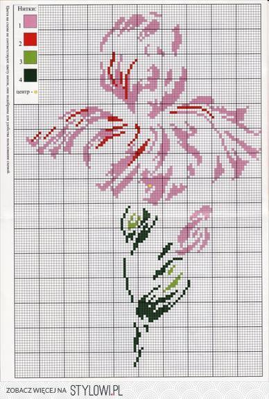 Aktualne kwiaty - haft krzyzykowy - dorota_mala - Chomikuj.pl, S… na Stylowi.pl IF15