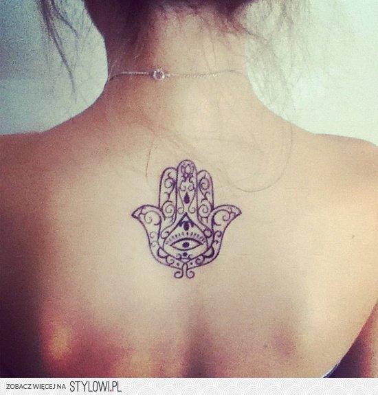 Tatuaż Ręka Fatimy Na Stylowipl