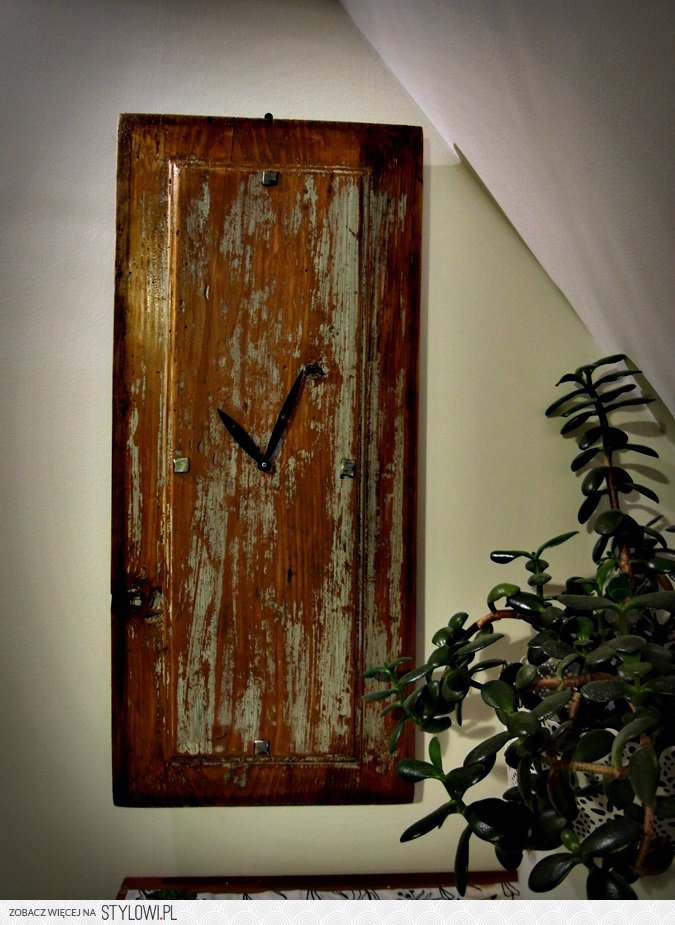 Zegar Stare Drewno Sprzedam Na Stylowipl