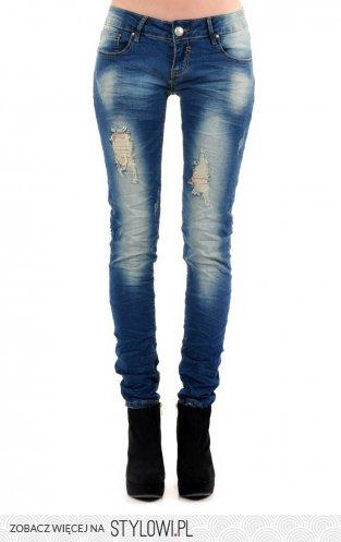79678c462148 Spodnie jeansowe z dziurami - Cocomoda.pl - odzież dam… na Stylowi.pl