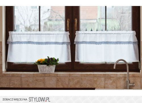 Jakie Firany Do Kuchni Homebookpl Projekty Aranż Na