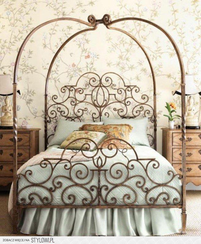 Metalowe łóżko Kute Na Stylowipl
