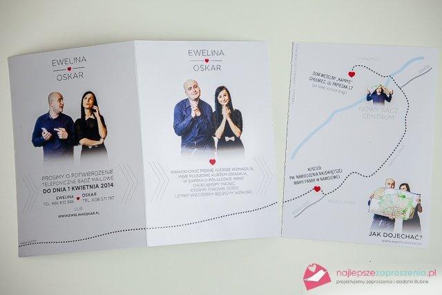 Mapa Dojazdu Na Zaproszenia ślubne Na Stylowipl