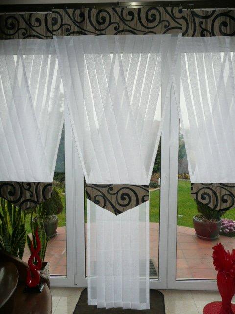 Firany Panele V Balkon 100cm X 250cm 6 Kolorów 4611 Na