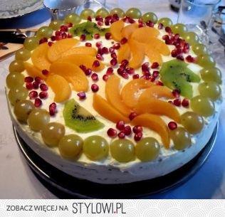 18 Pomysłów Na Proste Dekoracje Tortu Na Stylowipl