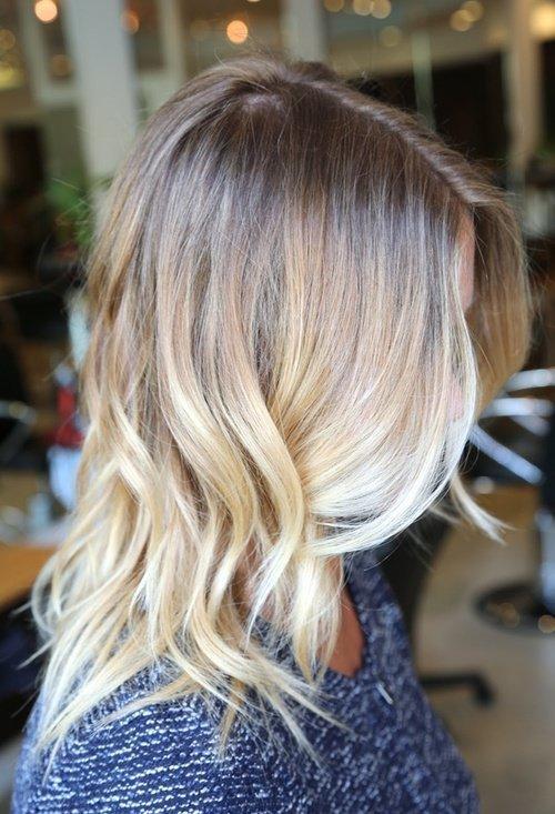 Blond Ombre Długie Włosy Na Stylowipl