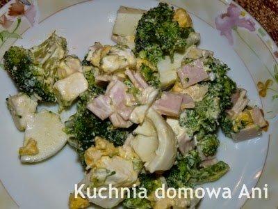 Kuchnia Domowa Ani Salatka Z Brokulem I Jajkiem Na Stylowi Pl
