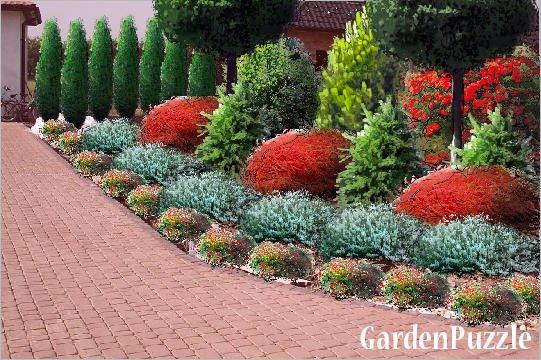 Rabata Przed Domem Gardenpuzzle Projektowanie Ogrod Na Stylowipl