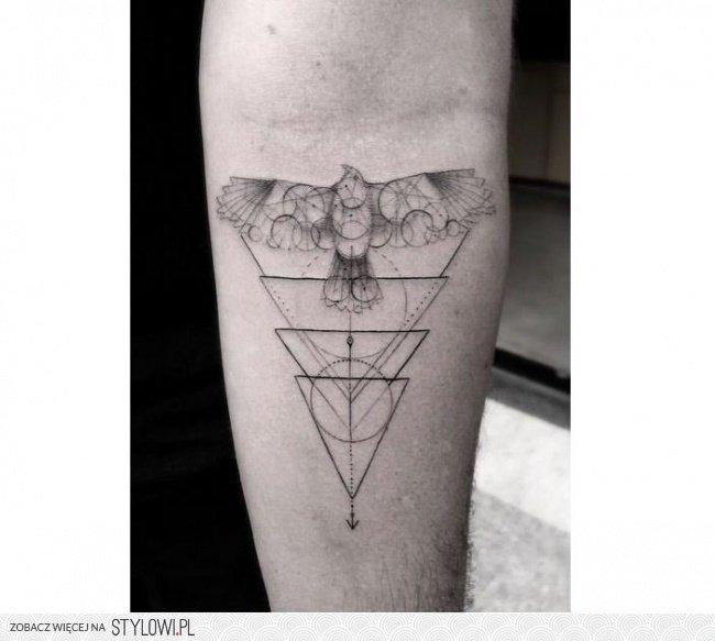 Tatuaż Geometryczny Strzałki Trójkąty Koła I Inne M Na