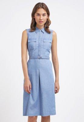 50f05ece1acba Oasis Chloe Sukienka Jeansowa Blue Denim Zalando Na Stylowipl