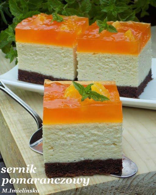 Domowa Cukierenka Domowa Kuchnia Sernik Pomaranczowy Na Stylowi Pl